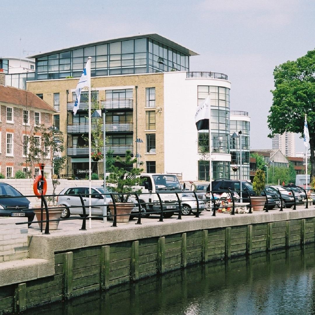 ferry quays river walk